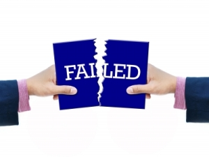 Picture showing 'Failed'